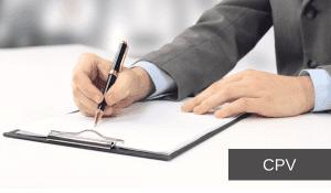 """Los """"CPV"""" en la contratación pública: consideraciones generales"""