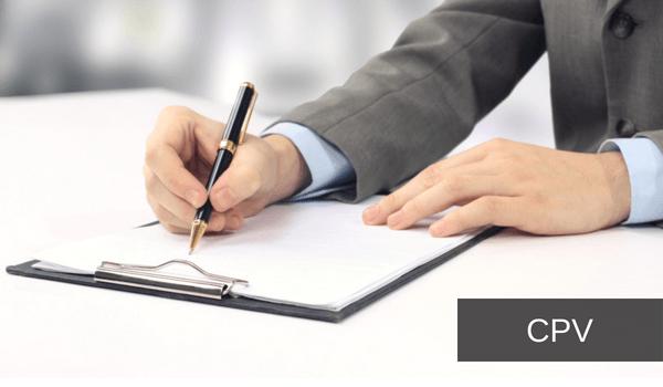 cpv contratos