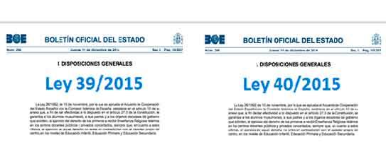 Ley 40 2015 De 1 De Octubre De Régimen Jurídico Del Sector Público