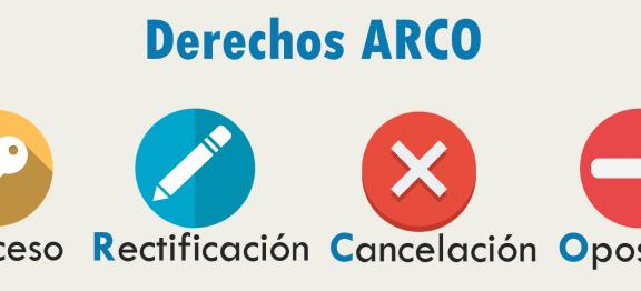 """Forma de ejercicio de los """"nuevos derechos ARCO"""" del Reglamento General de Protección de Datos"""